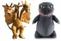 16'' Godzilla King of Monsters Ghidorah  Plush Doll Stuffed Kids Xmas Gift Toy