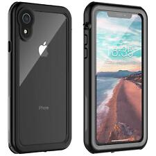 "For Apple iPhone XR Waterproof Case Cover Defender Shockproof Series 6.1"" Clear"