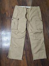 Levi's 40 x 30 Khaki Loose Straight Cargo Pants