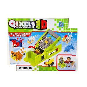 QIXELS The Cubes Maker Make 3D Figures From Pixel Cube Pieces Studio Printing