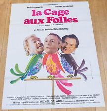 Affiche de cinéma : LA CAGE AUX FOLLES de EDOUARD MOLINARO