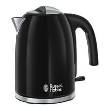Russell Hobbs 20413 Colours Plus Jug Kettle Black 1.7L 3000w - Brand New
