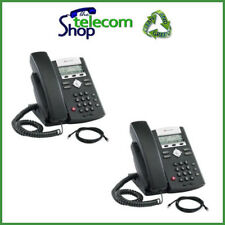 Polycom Soundpoint 320 IP Phone in Black - Buy One, Get One Free BOGOF