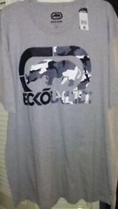 Grey Marc Ecko Untld Camo Logo t shirt New with Tags