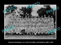 OLD 8x6 HISTORIC PHOTO OF CAMP McCOY WISCONSIN THE 148th OHIO INFANTRY 1951 3