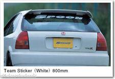 Cucchiaio Sport Sticker decal CIVIC EK9 DC2 DC5 INTEGRA JDM HONDA 80cm