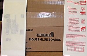 Catchmaster mouse Glue Boards Traps 72 Glue Boards NEW SALE MADE IN THE USA