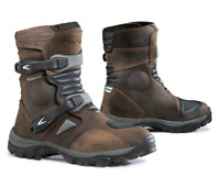 FORMA BOOTS ADVENTURE MOTORCYCLE BOOTS ENDURO BROWN LOW CE APPROVED #FORC50W24
