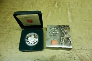 Kanada , 2003 , 1 $ Dollar Silber PP , Numismatique in Original Etui