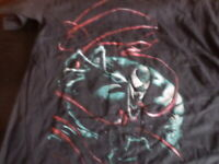 Loot Crate Wear Exclusive Venom T Shirt Mens XL Marvel Extra Large