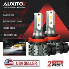 New listing 2x Auxito H8 H9 H11 H16 High Power Led Fog Light Bulb 6000K 4000Lm Super White