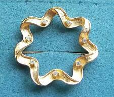 """STARLIT TRIO"" Rhinestone Pin - Sarah Coventry Jewelry - Sara Cov - Vtg"