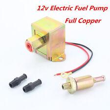 Heavy Duty Low Pressure Standard 5/16 4-6PSI Electric Fuel Petrol Pump Copper