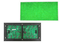 Outdoor P10 PH10 Green LED Display Module Board For Outdoor Sign 16*32 Matrix