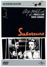 DVD SABOTEURE v. Alfred Hitchcock, Priscilla Lane ++NEU