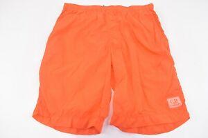 C.P. (CP) Company NWT Beachwear Boxer Swim Suit Size 48 S US In Bright Orange