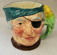 L & Sons LTD. Long John Pirate Mug - Toby Style Mug England