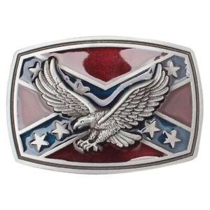 American Eagle Vulture USA Flag New Pattern Style Belt Buckle Handmade Waistband