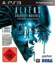 Aliens: Colonial Marines -- Limited Edition (Sony PlayStation 3, 2013, DVD-Box)