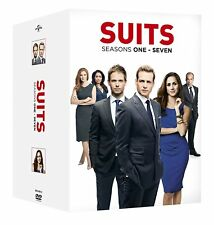 SUITS 1-7 COMPLETE SEASON 1 2 3 4 5 6 7 DVD BOX SET ENGLISCH