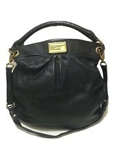MARC by MARC JACOBS Classic Q Hillier Hobo - Black Leather - Large