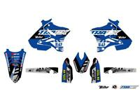 Kit plastiques + déco UFO type origine Yamaha YZ 125 / 250 2006 à 2014