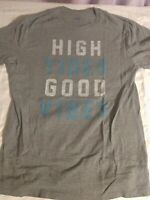 High Tides Good Vibes Old Navy Surf Shirt Size Medium graphic tee
