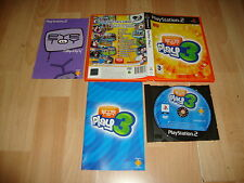EYE TOY PLAY 3 PARA LA SONY PS2 VERSION ORIGINAL USADO EN BUEN ESTADO