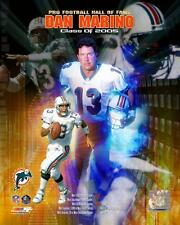 DAN MARINO ~ 8x10 Color Photo Picture Collage ~ Miami Dolphins Hall of Fame