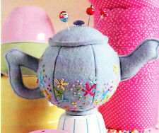 PATTERN - Teeny Teapots - cute Creative Cards mini PATTERN by Ric Rac