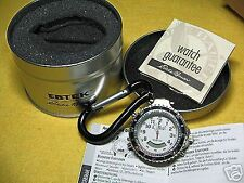 Ebtek Fossil Multi Sport Quartz Timer Analogue Digital Pocket Watch (WHITE)