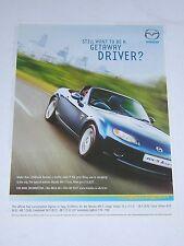 Mazda MX-5 Icon Advert from 2007 - Original  - MX5 Ad Advertisement