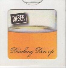 (BK781) Rieser, Drinking Den EP - Ltd Ed DJ CD no 119