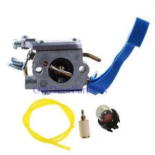 Carburetor W/ Fuel Line Hose Filter for Husqvarna 125B 125BX 125BVX Leaf Blower