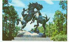 MURRELLS INLET,SOUTH CAROLINA-BROOKGREEN GARDENS-FIGHTING STALLIONS-(STATUE-534)