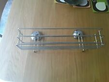 John Lewis Rust Resistant Self Stick Shower Storage Basket Caddy Self Adhesive