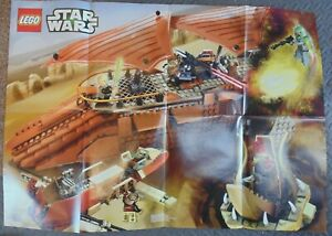 Genuine LEGO STAR WARS 2013 Minifigure Gallery Poster May the 4th JEDI