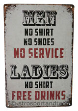 Drinking Alcohol Funny Tin Sign Bar Garage Dorm Decor Retro Metal Art Poster New