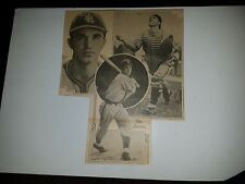 Hal Spindel St. Louis Browns 1939 Sporting News Collage