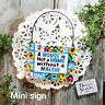 Mini Sign * Malshi DOG SIGN ALL BREEDS AND MIXES Wooden Ornament Decowords USA