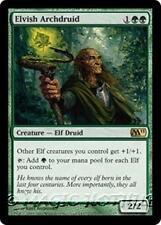 ELVISH ARCHDRUID M11 Magic 2011 MTG Green Creature — Elf Druid RARE