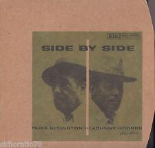 DUKE ELLINGTON & JOHNNY HODGES Side By Side CD - Digipak - New - Verve