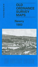 OLD ORDNANCE SURVEY MAP NEWRY DUBLIN BRIDGE STATION CATHEDRAL TEMPLE HILL 1903