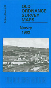 Old Ordnance Survey Map Newry 1903 - County Down Sheet 46.16