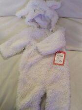 Pottery Barn Kids Baby Lamb Costume 0-6 Months NWT Lambie Soft Purim