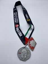 2017 Spartan Dubai Sprint Finisher Medal w/ Trifecta Wedge