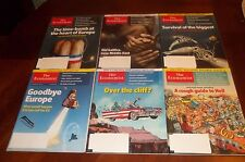 THE ECONOMIST MAGAZINE MONTHLY SETS  2012 2013 Issues