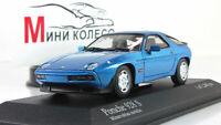 Scale car 1:43, Porsche 928 S 1979 Blue Metallic