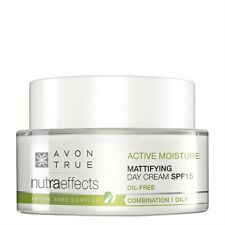 Avon True Nutra Effects Mattifying Day Cream or Mattifying Gel Night Cream SPF15