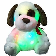 SENSORY ROOM SOFT FUR GLOW PUP TOY WITH LED NIGHT LIGHT PLAY AUTISM ADHT RELAX